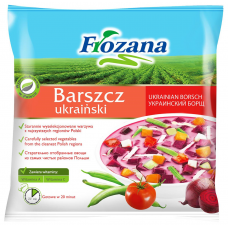 ZUPA FROZANA UKRAIŅU BORŠCS 400G