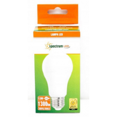 SPULDZE SPECTRUM LED GLS E27 13W