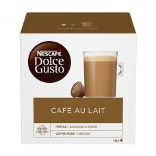 KAFIJAS KAPSULAS NESCAFE DOLCE GUSTO CAFE AULAIT 160GR