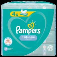 MITRĀS SALVETES PAMPERS FRESH CLEAN 52GB !!   x