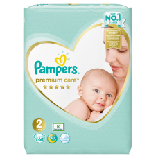 AUTIŅBIKSĪTES PAMPERS PREMIUM CARE S2 4-8 KG 68GB !!