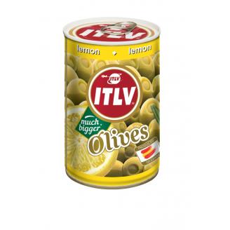 OLĪVAS ITLV ZAĻĀS PILDĪTAS AR CITRONU PASTU 314G