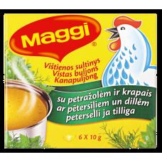 BULJONS MAGGI VISTAS AR DILLĒM,PĒTERSĪĻIEM 6*10G