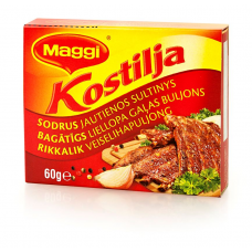 BULJONS MAGGI KOSTILJA LIELLOPU 60G