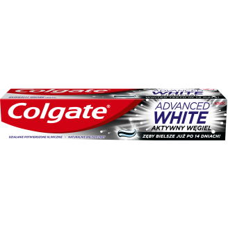 ZOBU PASTA COLGATE ADVANCE WHITE CHARCOAL 100ML