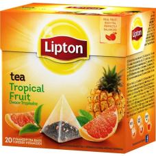 TĒJA LIPTON TROPICAL FRUIT 36G 20PAC