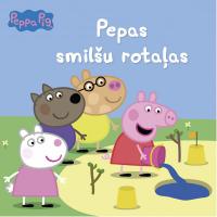 GRĀMATA PEPPA PIG. PEPAS SMILŠU ROTAĻAS