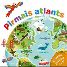 GRĀMATA PIRMAIS ATLANTS. AR PLAKĀTU-PASAULES KARTI