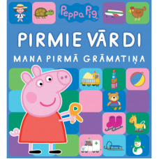 GRĀMATA PEPPA PIG. PIRMIE VĀRDI