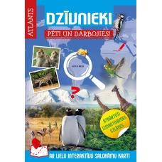 GRĀMATA ATLANTS DZĪVNIEKI